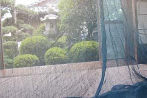 蚊帳のある風景