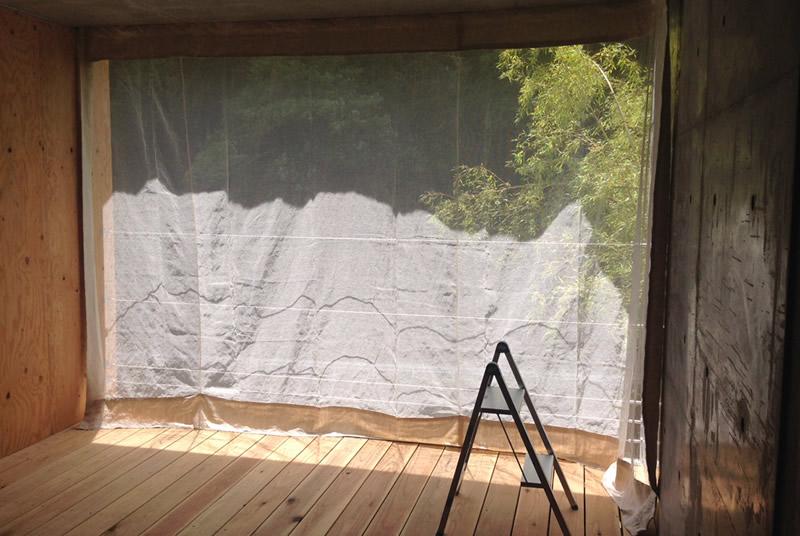 蚊帳カーテン